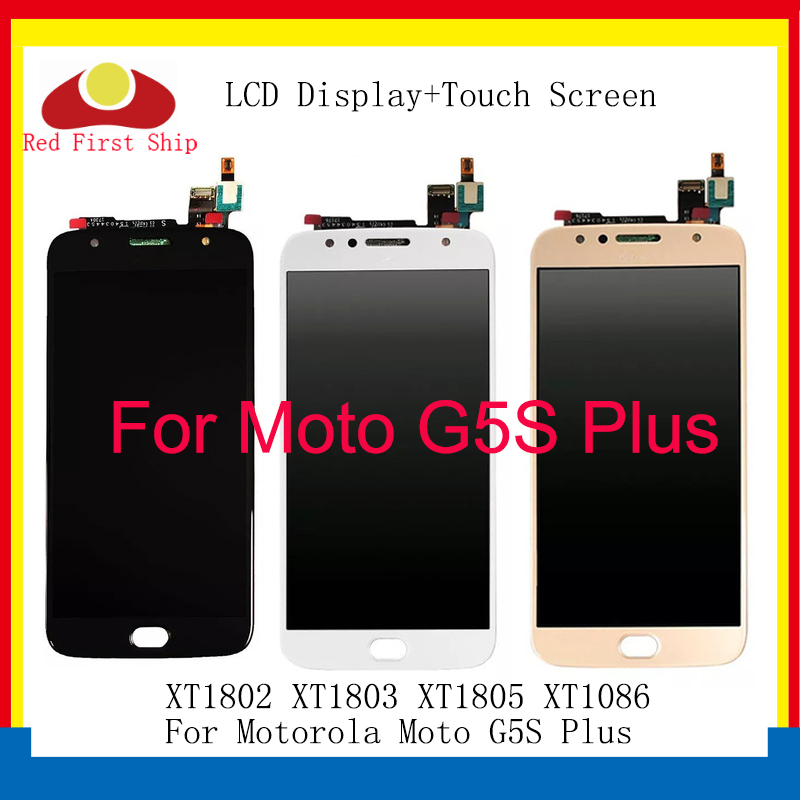 10Pcs lot LCD Display For Motorola Moto G5S Plus XT1802 XT1803 XT1805 XT1086 Touch Screen Digitizer LCD Assembly Replacement in Mobile Phone LCD Screens from Cellphones Telecommunications