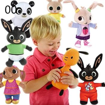 BING Rabbit Plush Kids Toy Stuffed Sula Elephant Hoppity Panda Coco Plush Doll Peluche Toys Birthday Gifts For Children