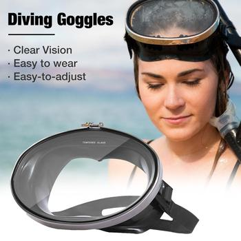 Professional  Underwater Diving Masks Adult Silicone Anti-Fog Goggles Swimming Fishing Men Women