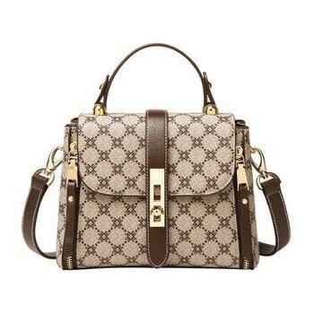 High Quality Luxury Women's Business Briefcase Bag Fashion Microfiber Briefcase Shoulder Bag Shoulder Crossbody Handbags Sg41