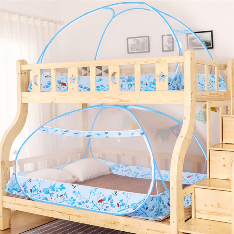 Summer Cartoon Children Bunk Bed Mosquito Net Encryption Mesh Bed Tent Canopy Students Dormistory Yurt Mosquito Nets Folding 1pc Mosquito Net Aliexpress