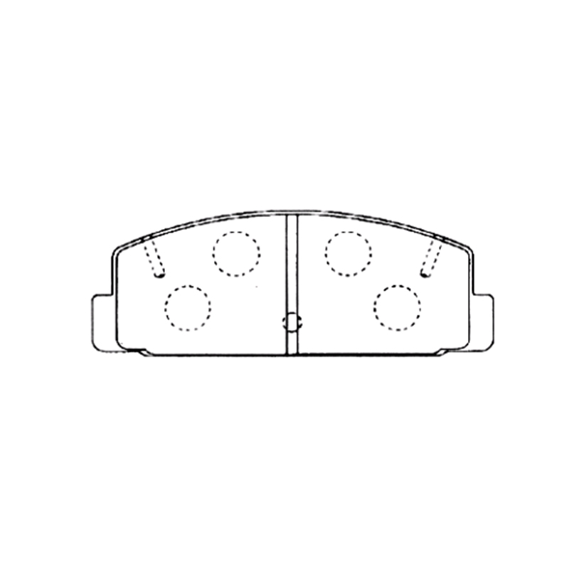 AKEBONO pads brake disc rear FIT FOR MAZDA 6 (GG, GH) AN-219K