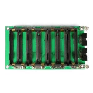 Image 3 - 52v 14s power wall 18650 bateria 14s bms li ion lítio 18650 suporte da bateria bms pcb diy ebike bateria 14s bateria caixa