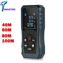 Handhold Laser Rangefinder Digital Laser Distance Meter Electrical Level Tape Misuratore Laser Distance Measurer digital laser distance meter ldm 40 bigger bubble level tool rangefinder pi54 class for waterproof and dustproof