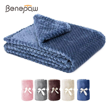 Benepaw All-season Fluffy Dog Blanket Comfortable Puppy Throw Pet Blanket For Small Medium Large Dogs Cats Mat Machine Washable