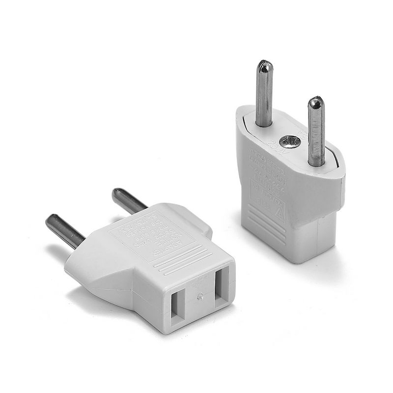 1pcs US To EU Plug Adapter CN Chinese To Euro EU Travel Adapter European Type C Plug Converter Electric Power Sockets Outlet