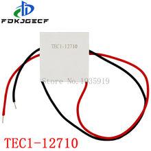 100W TEC1-12710 DC12V 10A 40*40MM TEC1 TEC Thermoelectric Cooler Peltier 12710