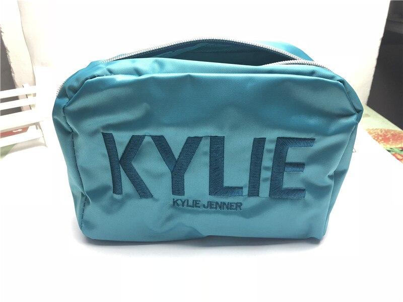 KYLIE Christmas  Cosmetic Bag Maquiagem Pencil Makeup Lasting Waterproof Liquid Lip Gloss Lipstick Kyliejenner Lip Make Up Bag