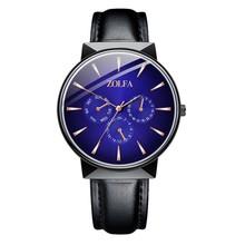 Montre Homme zegarki luksusowe zegarki kwarcowe zegarki ze stali nierdzewnej Casual zegarki Bracele męskie atmosferyczne luźne zegarki tanie tanio Sanwony 25cm Moda casual QUARTZ NONE bez wodoodporności Sprzączka CN (pochodzenie) STOP Szkło bez opakowania Skórzane