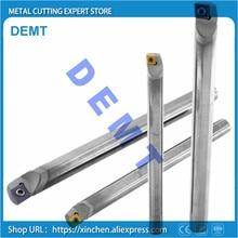 Carboneto que gira a ferramenta chata 4 12mm sclcr para o diâmetro pequeno da lâmina de ccgt que gira, à prova de choque, tornos internos dos suportes