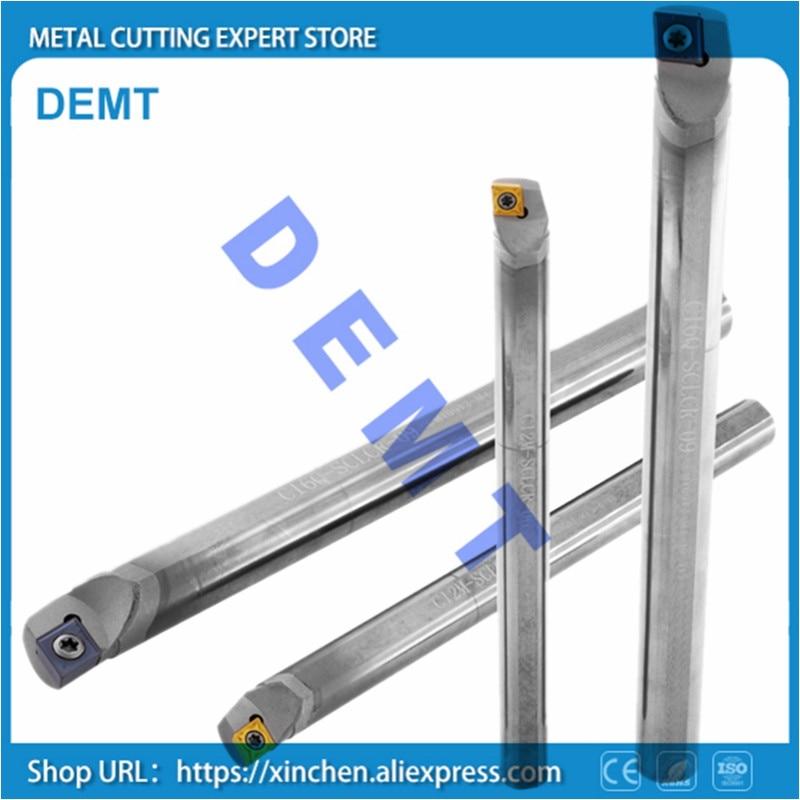 Herramienta de perforación de torneado de carburo 4-12mm SCLCR para tornos de hoja CCGT de diámetro pequeño a prueba de golpes herramientas de torneado interno