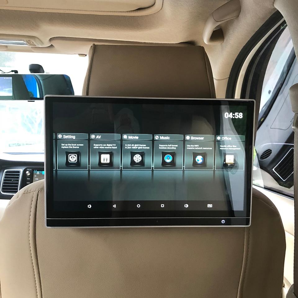 Монитор на подголовник автомобиля, для BMW X2 X3 X4 X5 X6 X7 i3 Z4 1 2 3 4 5 6 7 8 серии, 12,5-дюймовый Android 9,0