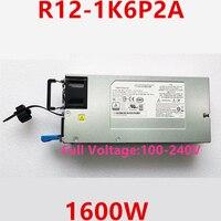 Nuevo PSU para Lenovo Thinkserver RQ940 NF8470M3 1600W fuente de alimentación R12-1K6P2A