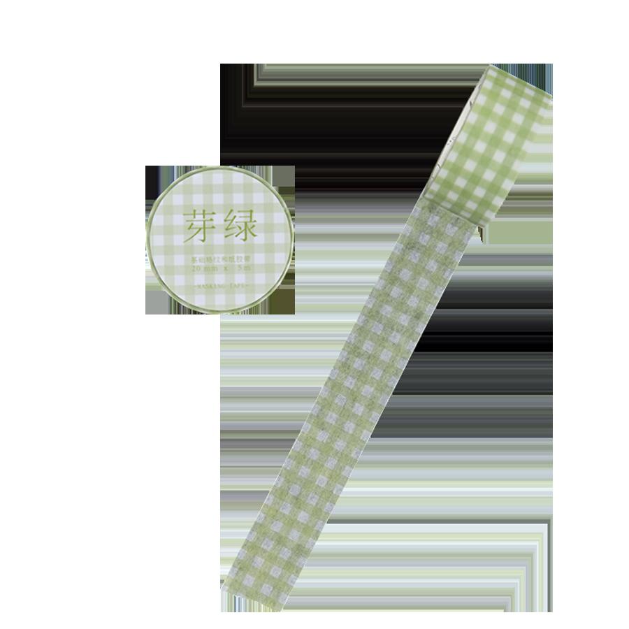 Basic Rooster Serie Journal Washi Masking Tape Decoratieve Zout Eenvoudige Plakband Diy Scrapbooking Sticker Label Briefpapier