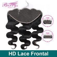 HD кружевные фронтальные волосы бразильские волнистые натуральные волосы 13x6 & 13x6 предварительно выпрямленные волосы с детскими волосами от...