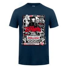 Rob Zombie Dead Rock and Roll music Men's short sleeve T-shirt цена и фото