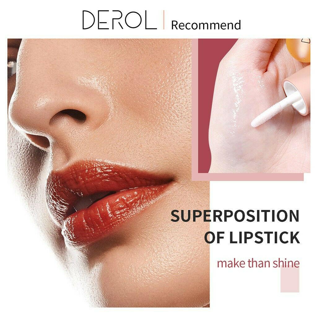 5ml Instant Volumising Lips Plumper Repairing Reduce Lip Fine Lines Mask Long Lasting Moisturizer Care Lip Oil Sexy Plump Serum-3
