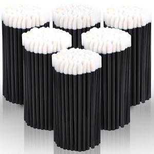 Image 1 - 500/1000 PCS Einweg Lip Pinsel Frauen Zubehör Großhandel Lippenstift Gloss Stab applikatoren bürste Perfekte Beste Bilden Werkzeug Hotting