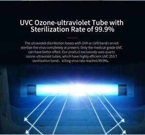 Image 4 - Portable Mobile Phone Sterilizer UV Sterilization Box UVC Ozone ultraviolet Tube UVC Light for Toys Cell Phone UV Sanitizer