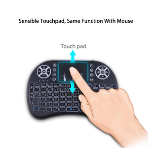 Image 3 - Mecool Mini Draadloze Toetsenbord Engels 2.4Ghz I8 Touchpad Fly Air Mouse Voor Android Tv Box Afstandsbediening Mini Pc met Touchpad