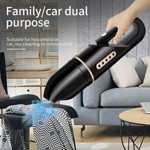 Image 5 - 5000PA Drahtlose Auto Staubsauger Protable Auto Vakuum Reiniger Starken Sog Handheld Automotive Reiniger für Home Auto Büro