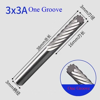 цена на Rotary File 3mm end mills carbide tungsten burs Tungsten Carbide Drill Bit engraving grinding and chamfering cutter