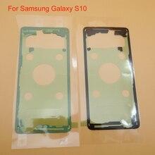 100 шт./лот, оригинальная наклейка на жилье, задняя крышка батареи, дверная клейкая лента для samsung Galaxy S10 G973 G973F