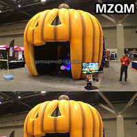 mzqm inflatable jackolantern oakisland inflatable pumpkin tent toy blow up Halloween tent balloon customized for advertising