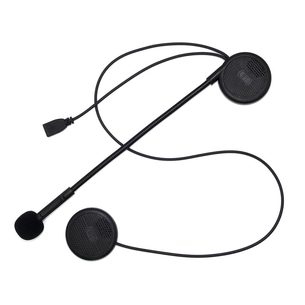 L1M Ultra-thin Motorcycle Helmet Wireless Bluetooth Headset Earphone Helmet Speaker With Sponge Microphone Hands-free Calling