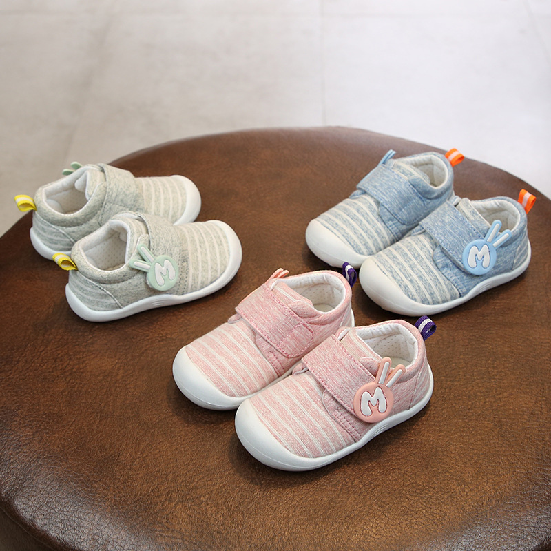 2019 Spring Infant Toddler Shoes Baby Girls Boys Shoes Cartoon Non-slip High Quality Babies Kids First Walkers Shoes