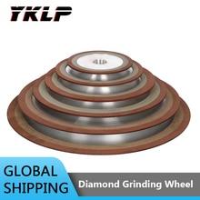 1Pc Diamond Grinding Wheel 75/100/125/150mm 150/180/240/320/400 Grit  Tungsten Steel Milling Tool Carbide Metal Grinding Disc
