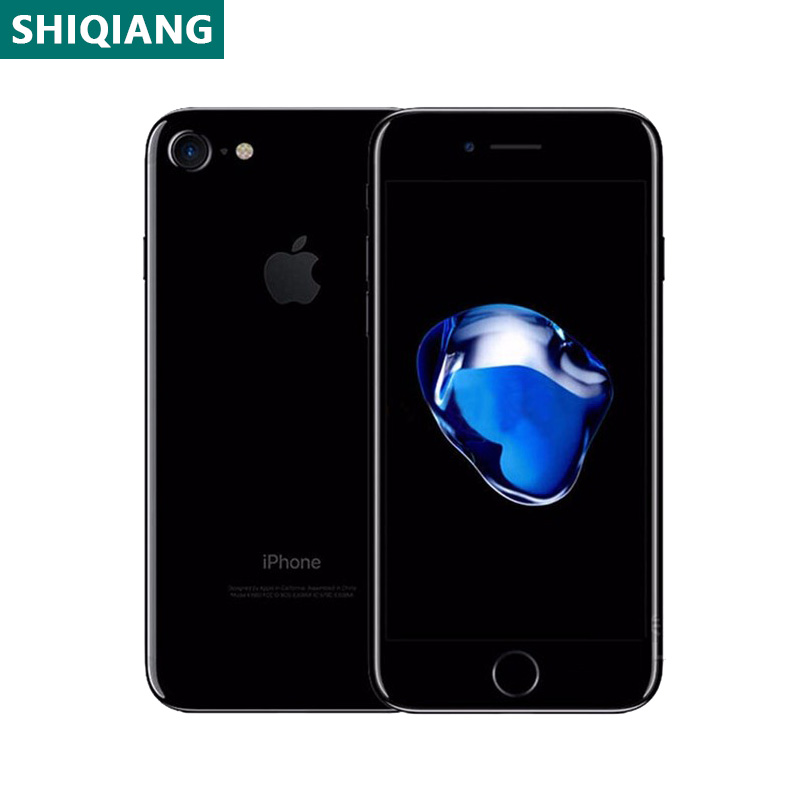 Used Unlocked Original iPhone 7 Cell Phones 4.7inch Fingerprint Smartphones 2+32/128/256GB 7+12MP 1SIM Card Mobile Phone