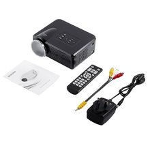 Mini LED Video Projector Portable TV DVD Game Projectors LCD