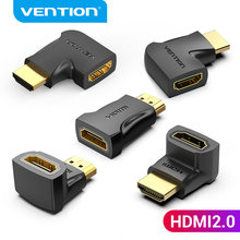Vention HDMI Adapter 90 270 Degree Right Angle HDMI Male to Female 4K HD Converter for HDTV Laptop TV Box Desktop HDMI Extender