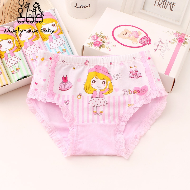 Girl Panties Kids Cartoon Printed Briefs For Girl Cotton Soft Underpants Children Comfortable Underwear Baby Panty Girls Clothe
