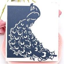 Peacock Metal Cutting Dies for Card Making