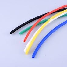 1M/lot Red, blue, black, yellow, white, green 1-10mm Diameter Heat Shrink Heatshrink