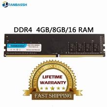DDR4 4GB 8GB ram 2133MHz 2400MHz 2666MHZ 16GB 2666MHZ PC DIMM Desktop Memory Support motherboard ddr4  RAM