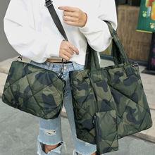 Модные Хлопковые женские сумки на плечо дизайнерские из 3 предметов