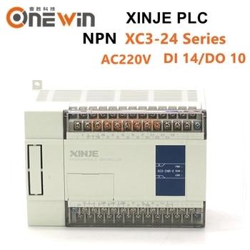XINJE XC3 Series XINJE XC3-24R/T/RT-E PLC CONTROLLER MODULE AC220V DI 14 DO 10 Transistor new in box