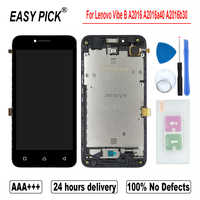 For Lenovo Vibe B A2016 A2016a40 A2016b30 LCD Display Touch Screen Digitizer Assembly For Lenovo A Plus A1010a20