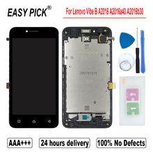 Voor Lenovo Vibe B A2016 A2016a40 A2016b30 Lcd Touch Screen Digitizer Vergadering Voor Lenovo Een Plus A1010a20