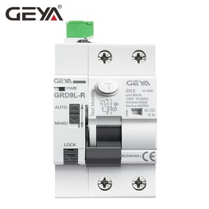 Image 3 - GEYA dispositif de fermeture automatique 6KA ELCB RCCB 2P, disjoncteur, télécommande RCD 40A 63A 30mA