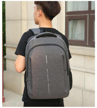 New business backpack USB charging outdoor sports multifunctional large capacity men\'s notebook backpack