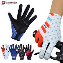 Darevie длинные перчатки для велоспорта весенние велосипедные