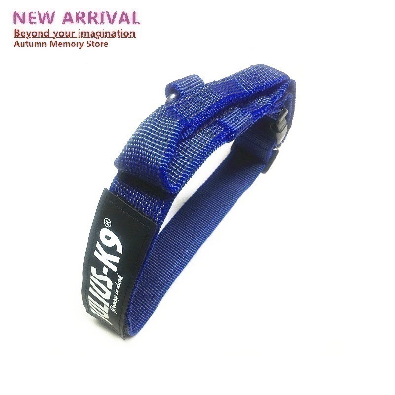 New Arrival JULIUS K9 Small Large Glow Dog Collars Harness Perro Nylon Training For Big Small Large Dogs