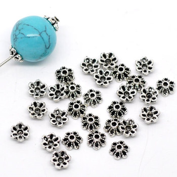 doreenbeads zinc based alloy spacer beads half moon antique silver color jewelry about 19mm x 8mm hole approx 1 5mm 50 pcs DoreenBeads Zinc Based Alloy Beads Caps Flower Antique Silver Color DIY Making Jewelry (Fits 8mm-12mm Beads) 6mm x 2.8mm, 300PCs