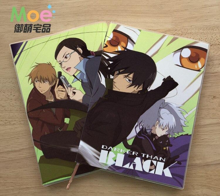 Anime más oscura que la figura estudiante escribir cuaderno de papel delicado ojo protección Bloc de notas diario Bloc de notas de regalo