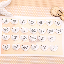 A-Z Fashion Individualized Alphabet Hanging Accessories Alphabet Accessories Retro-coloured Hanging Alloy Alphabet Accessories