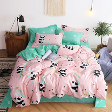 Panda Printing Bedding Set 2pcs 3pcs 4pcs Duvet Cover Set 1 Quilt Cover 1 Flat Sheet